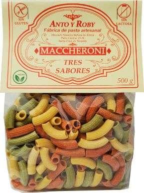 MACCHERONI TRES SABORES